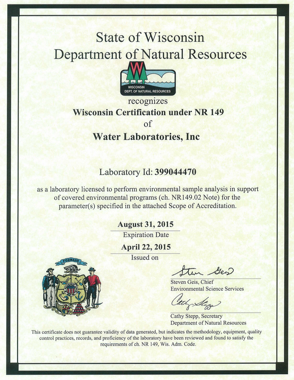 Real-estate related testing | Water Laboratories, Inc.